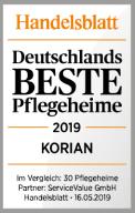 Korian Auszeichnung - Handelsblatt